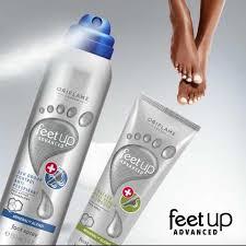 Bộ đôi sản phẩm khử mùi và chăm sóc da chân Oriflame