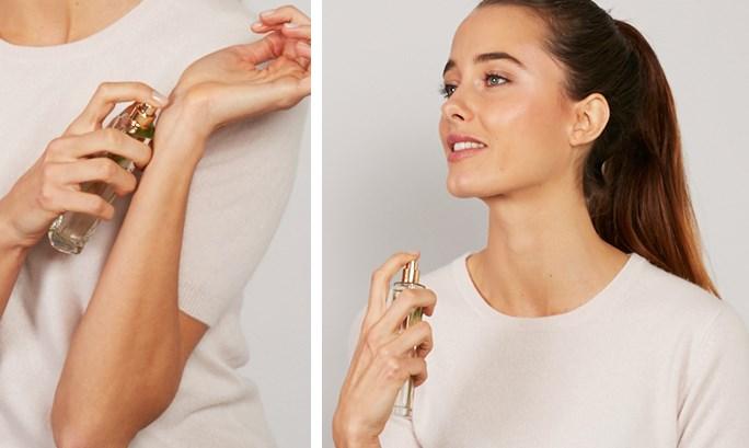 4 cách sử dụng nước hoa
