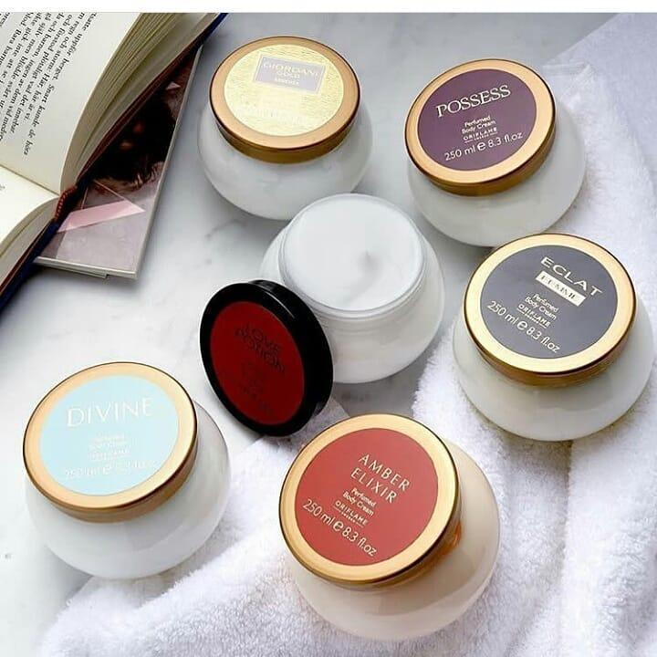 Bộ dưỡng thể nước hoa Oriflame dưỡng da mịn màng và mùi hương tinh tế, quyến rũ