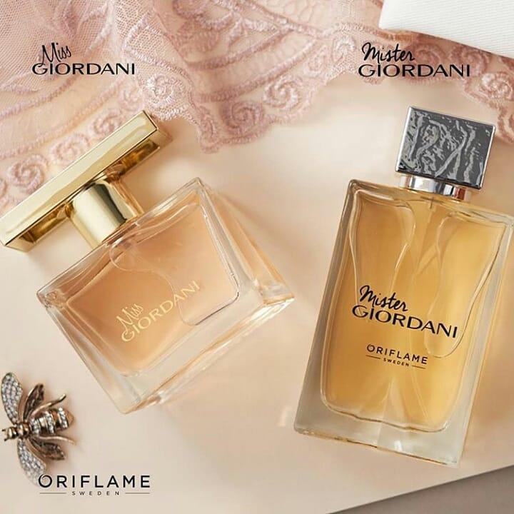 Bộ nước hoa nam Mister và nuosc hoa nữ Miss Oriflame cho hương thơm vấn vương khó phai