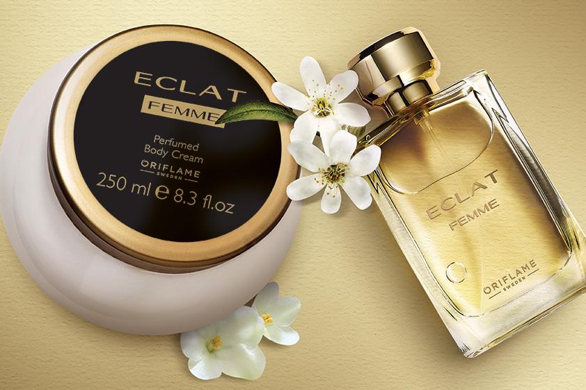 Combo nước hoa nữ 30128 và dưỡng thể 31778 dòng Eclat Femme
