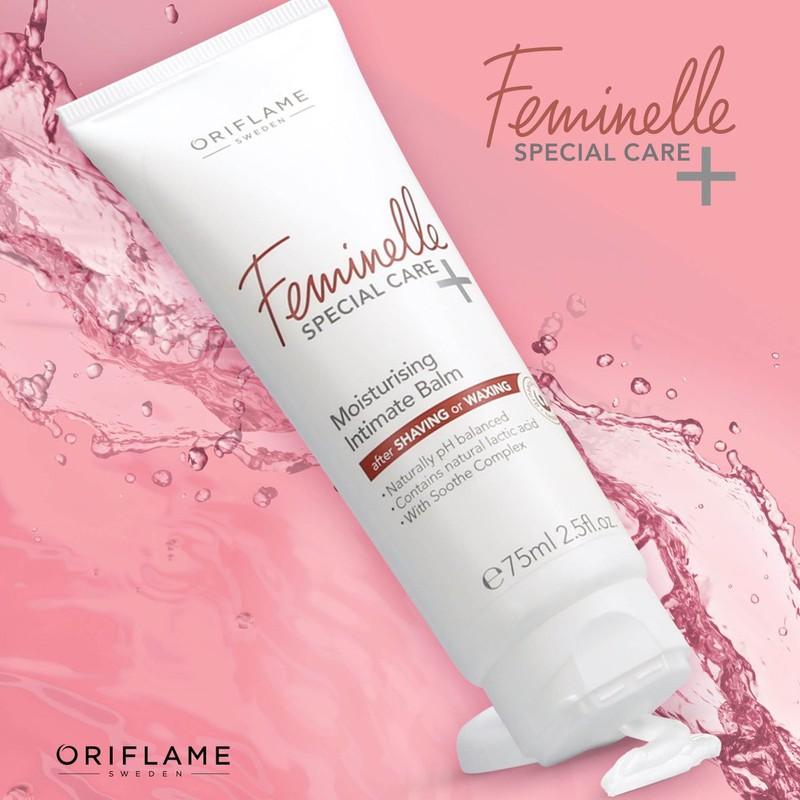 Kem dưỡng ẩm vùng da nhạy cảm 32340 Oriflame giúp ngăn ngừa hiện tượng lông mọc ngược