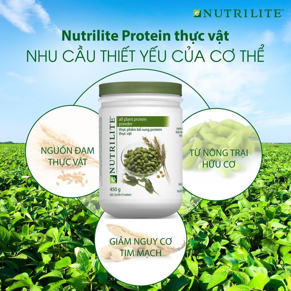 Nguồn dinh dưỡng bổ sung protein đạm thực vật giúp bổ sung các loại axit amin thiết yếu của Lalishop