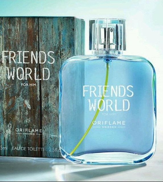 Nước hoa nam Oriflame 33384 Friends World For Him Eau de Toilette
