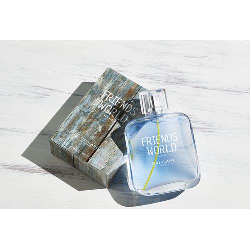 Nước hoa nam Oriflame 33384 hương thơm đậm chất nam tính từ cây thường xuân Thụy Điển, tinh dầu xô thơm và đậu Tonka