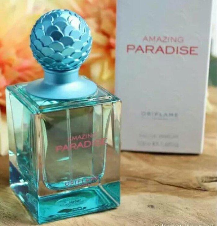 Nước hoa nữ Amazing Paradise là hương thơm độc quyền của Oriflame