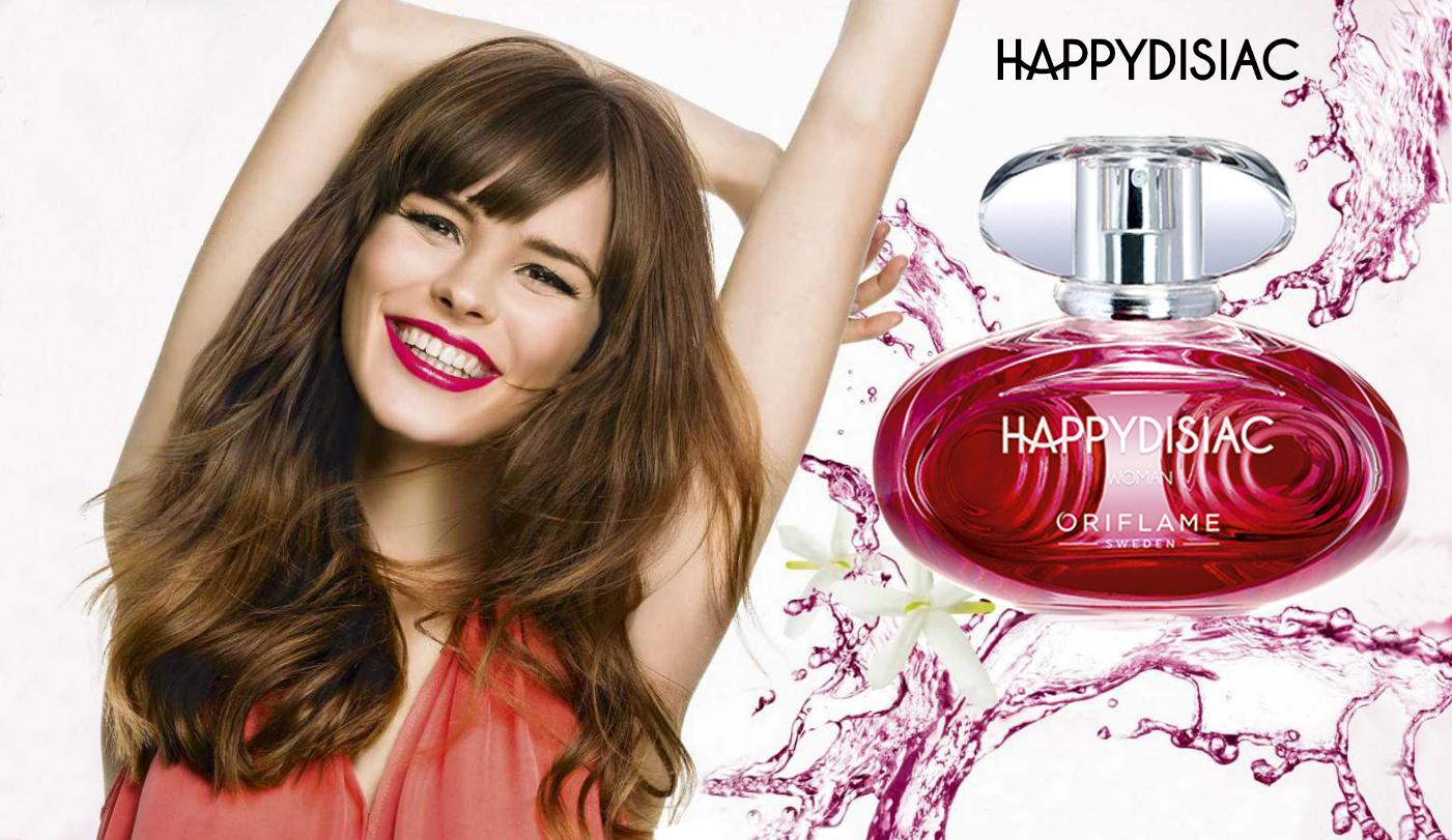 Nước hoa nữ Oriflame 31630 Happydisiac Woman giải tỏa mọi căng thẳng trong bạn