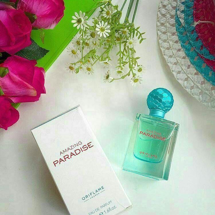 Nước hoa nữ Oriflame 32504 Amazing Paradise từ Thụy Điển
