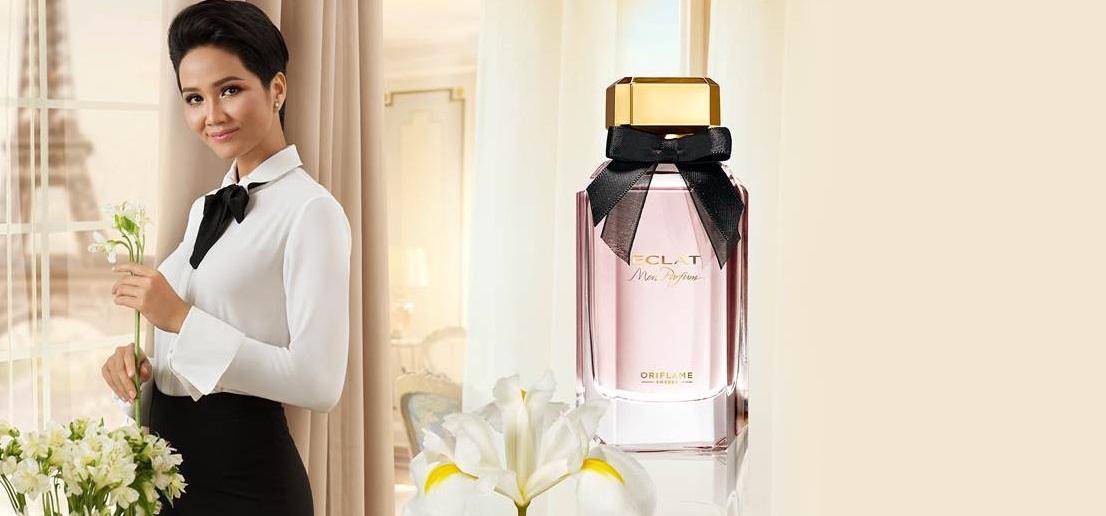 Nước hoa nữ Oriflame 33957 Eclat Mon Parfum hương hoa Diên Vĩ trắng tinh khôi và thuần khiết