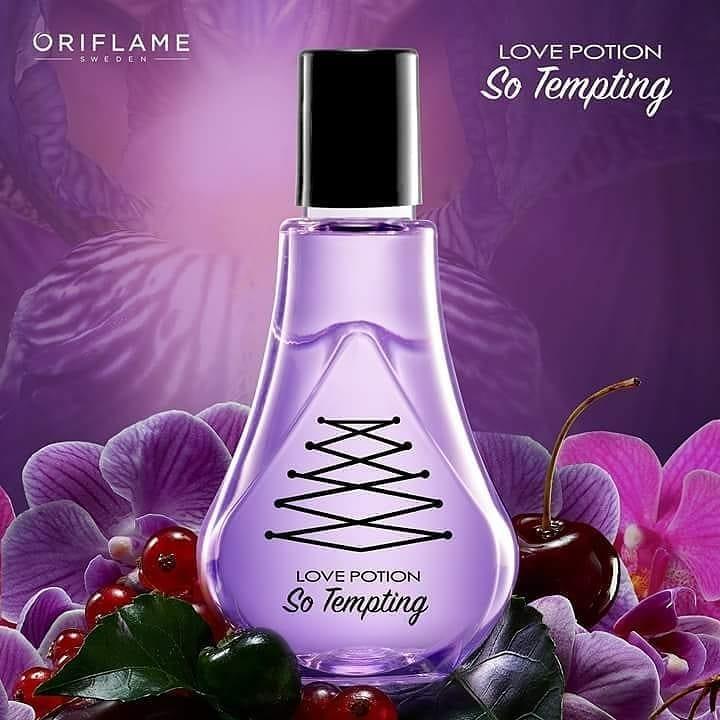 Nước hoa nữ Oriflame 33958 Love Potion So Tempting chìm đắm trong sức hút thoát ra từ hương thơm