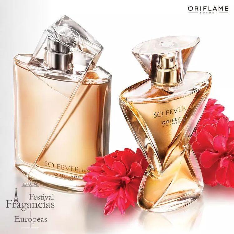 So Fever gồm nước hoa nam hương gừng cho chàng và nước hoa nữ hương hoa gừng cho nàng